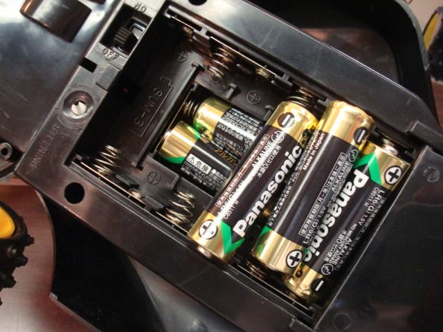 電池がいっぱい